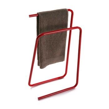 Suport metalic pentru prosoape Versa, roșu de la Versa