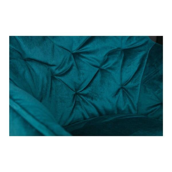 Tmavě modrá židle WOOOD Elaine