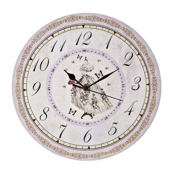 Nástěnné hodiny La Dame