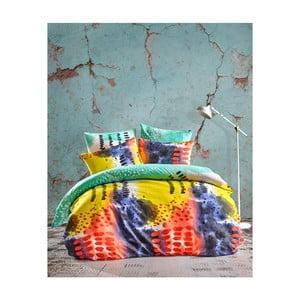 Lenjerie de pat cu cearșaf Paint, 200 x 220 cm