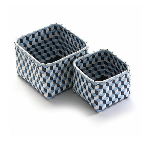 Sada 2 košíků Azules