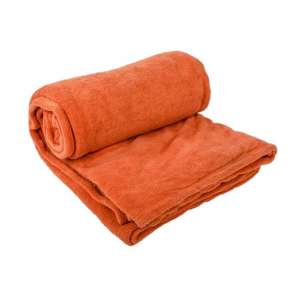 Přehoz na postel Sherpa Orange, 220x240 cm