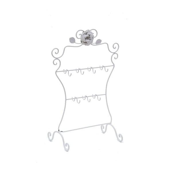 Kovový stojan na šperky Bolzonella White Rose