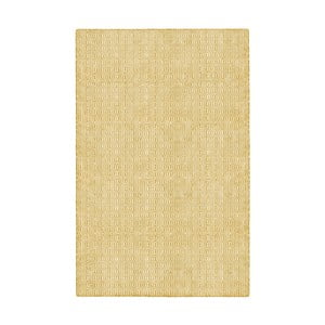 Žlutý oboustranný koberec vhodný i do exteriéru Green Decore Viva, 60 x 90 cm