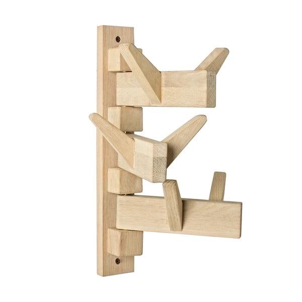 Nástěnný věšák z dubového dřeva se 6 háčky Bizzotto Daiki