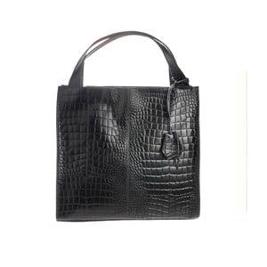 Černá kožená kabelka Tina Panicucci Gera