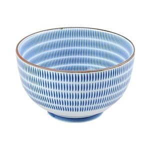 Porcelánová miska Blue Stripes, 12.8 cm