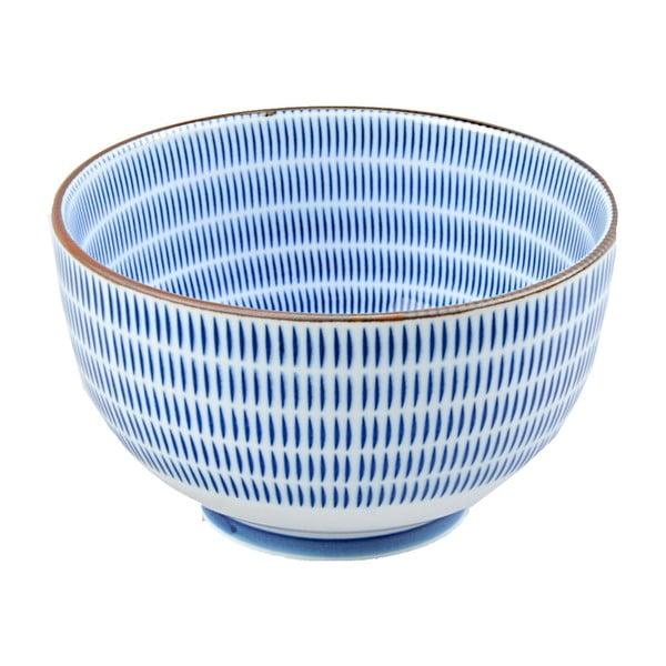 Porcelánová miska Blue Stripes, 12.8 cm