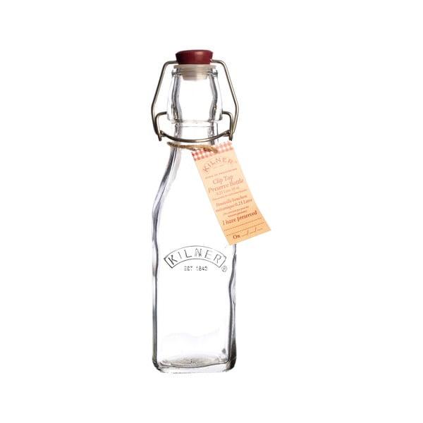 Lahev s plastovým uzávěrem Kilner, 250 ml