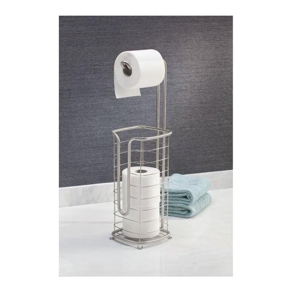 Stojan na toaletní papír se zásobníkem Forma Ultra