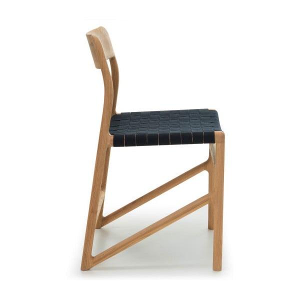 Židle Fawn Natural Gazzda, černá