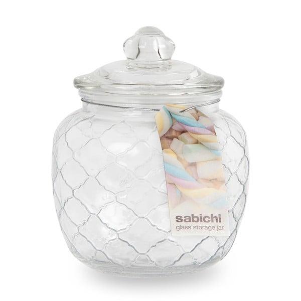 Bombonieră din sticlă Sabichi, 1400 ml