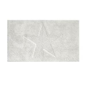 Bílá koupelnová podložka Kela Lindano, 120x70cm
