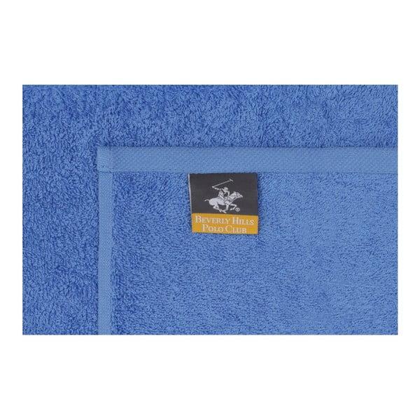 Sada 2 modro-zelených ručníků z čisté bavlny Handy, 50 x 90 cm