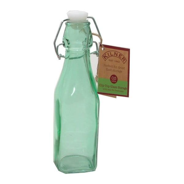 Lahev s klipem Kilner, 250 ml, zelená