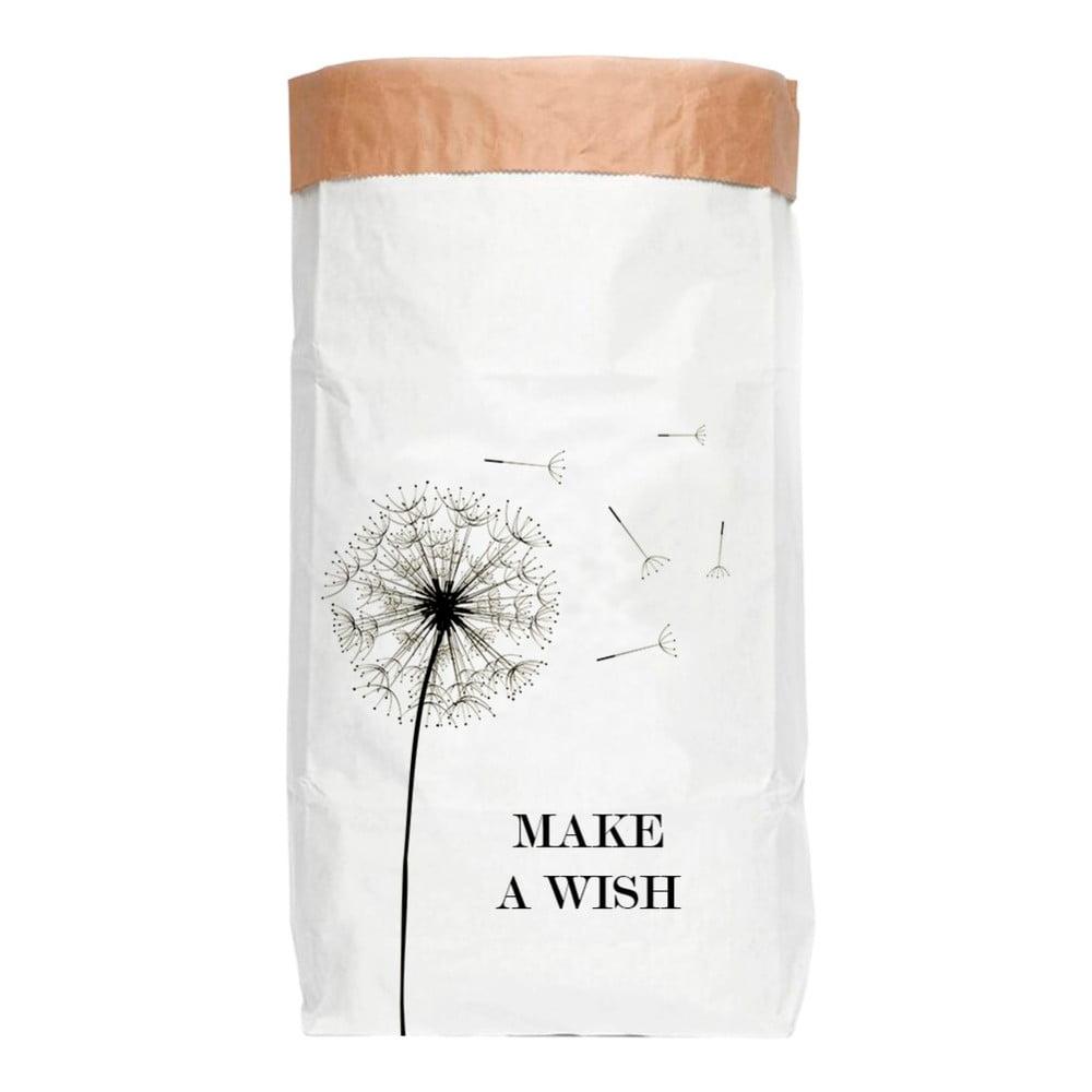 Úložný koš z recyklovaného papíru Surdic Make a Wish