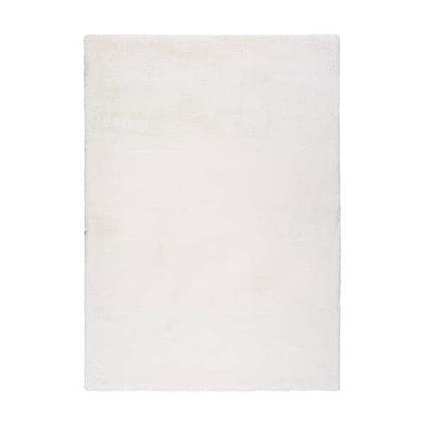 Bílý koberec Universal Fox Liso, 80 x 150 cm