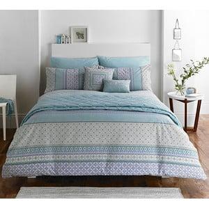 Povlečení Kalisha Stripe Blue, 135x200 cm
