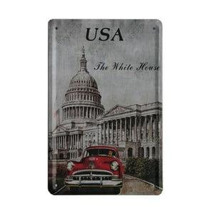 Cedule USA Car, 15x21 cm