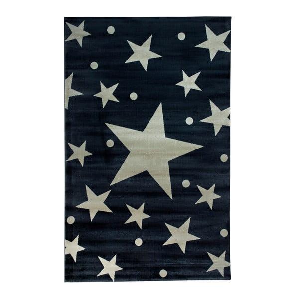 Dětský koberec Stars Sky Gris, 120 x 170 cm