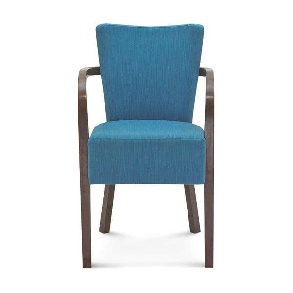 Modrá židle Fameg Asulf