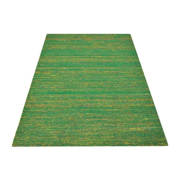 Ručně tkaný koberec Bakero Kilim  Sari Silk Green, 155x240 cm