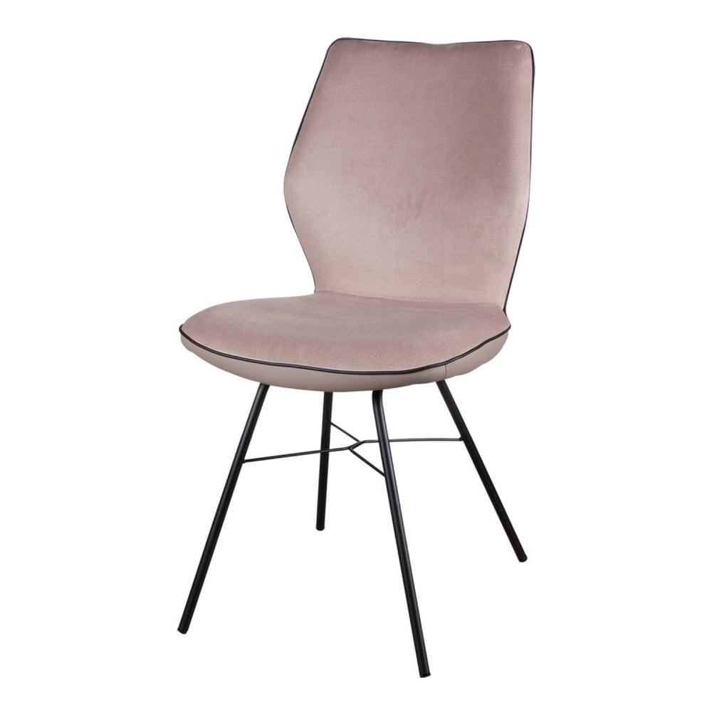 Sada 2 béžových židlí sømcasa Erika