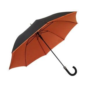 Deštník Ambiance Susino Noir Orange