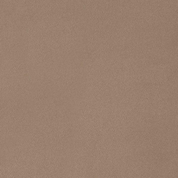 Béžová trojmístná pohovka s nohami ve stříbrné barvě Vivonita Meyer Velvet