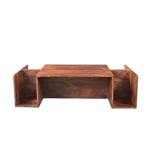 Konferenční stolek z akáciového dřeva Woodking Mallorca