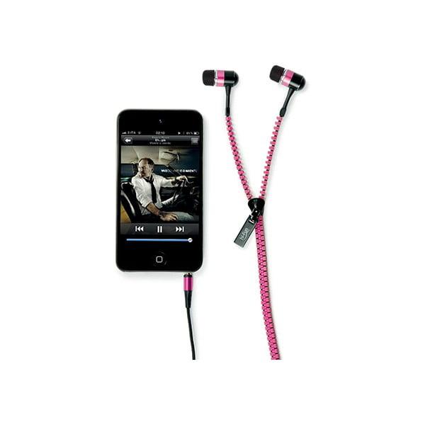 Sluchátka hi-Zip, růžová