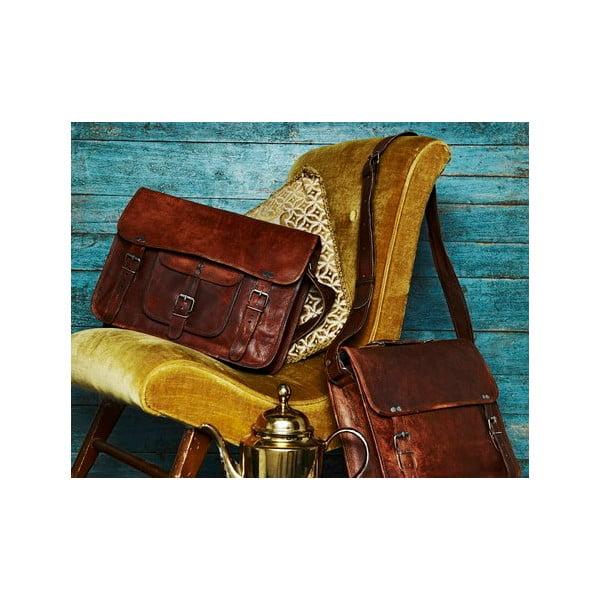 Pánská kožená taška Large Weekend Bag