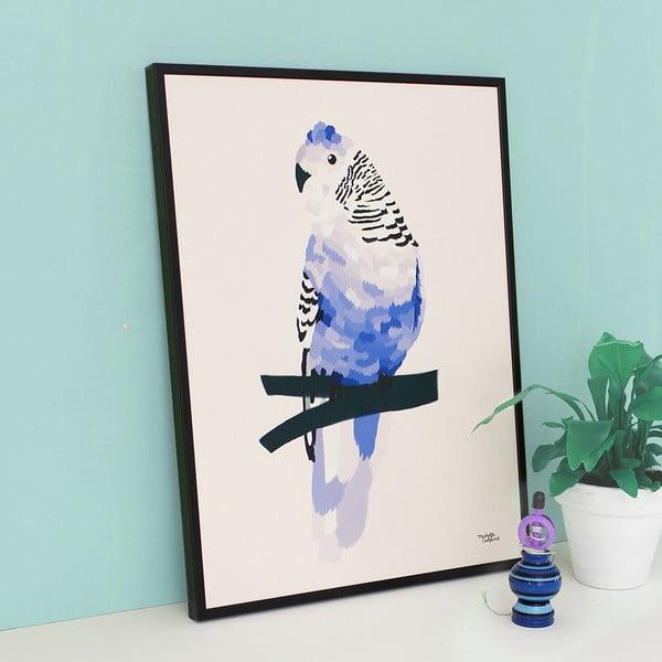 Plakát Michelle Carlslund Blue Bird, 30x40cm