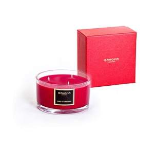 Lumânare parfumată Bahoma Gift, aromă de vanilie și condimente, 40 ore