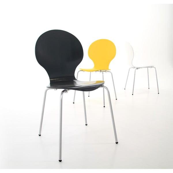 Černá  jídelní židle Actona Marcus