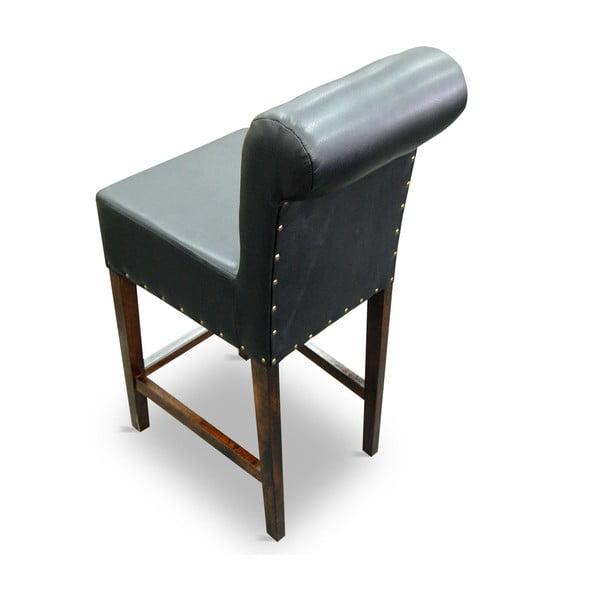 Vysoká židle 77 Black Karo