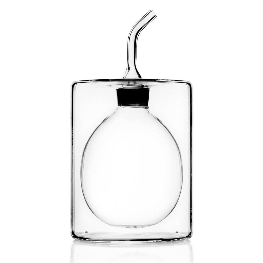 Dvojitá skleněná lahev na olej Cilindro