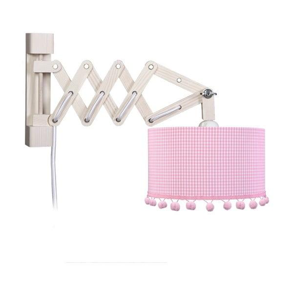 Nástěnné světlo Pink Pompom
