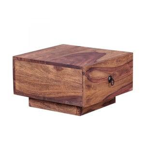 Konferenční stolek z masivního palisandrového dřeva Skyport Desirée