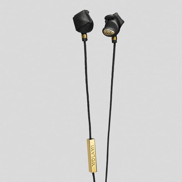 Sluchátka Molami Bight Black and Gold