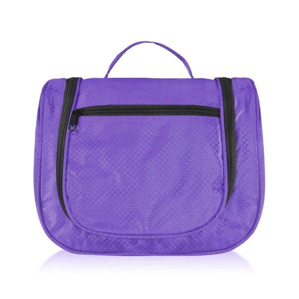 Fialová kosmetická taška Bluestar Access
