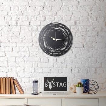 Ceas din metal pentru perete Ball, 50 x 50 cm de la Unknown