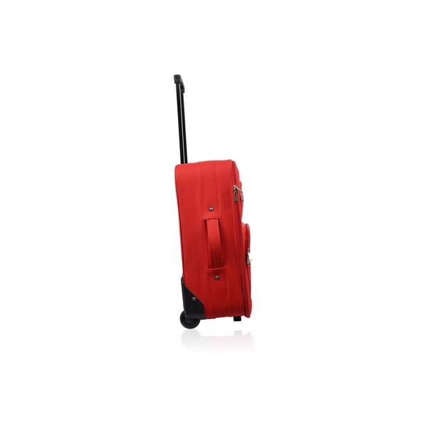 Cestovní zavazadlo na kolečkách Cabine Red