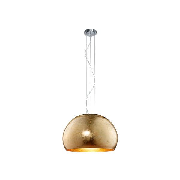 Závěsné svítidlo ve zlaté barvě Trio Ontario, výška 1,5 m
