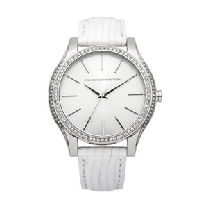 Bílé dámské hodinky French Connection Anne