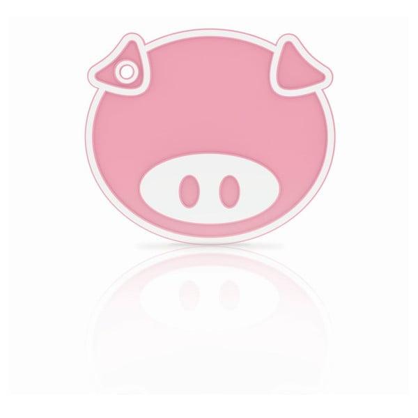 Silikonová podložka/chňapka Pink Pig