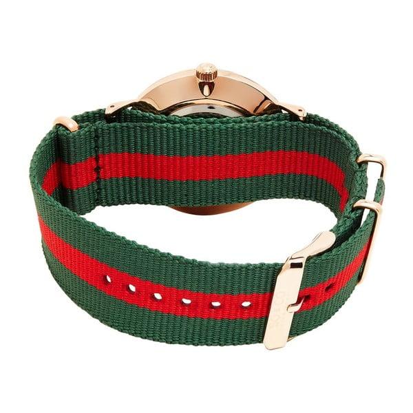 Pánské hodinky Madison Stripe Red/Green