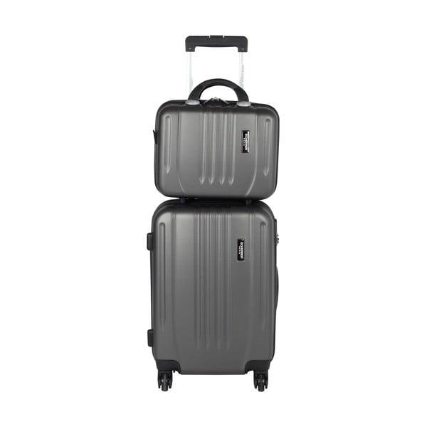 Kufr s příručním zavazadlem Jean Louis Scherrer Black