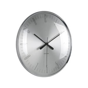 Skleněné hodiny Karlsson Dragonfly, Ø 25 cm