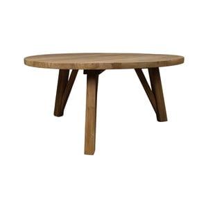 Konferenční stolek z teakového dřeva HSM Collection India, Ø85cm